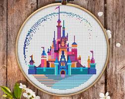 modern cross stitch etsy