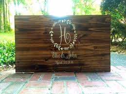 personalized wooden wedding signs best 25 guest book sign ideas on photo guest book
