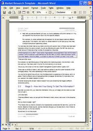 Free Survey Templates For Word by Free Market Research Brand Loyalty Survey Template 12 Market