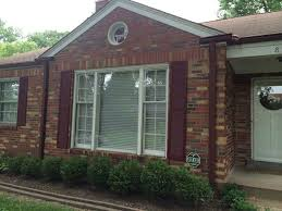 red brick ranch homes exterior trim ideas joy studio design