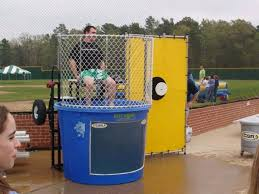 dunk booth rental dunk tank hdr w 5 balls rentals texarkana tx where to rent dunk