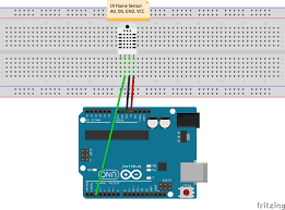 monitor fire and temperature using artik cloud arduino project hub