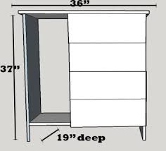 Cabinet For Mini Refrigerator Diy Mini Refrigerator Storage Cabinet Free Plans Sawdust Sisters