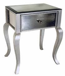 silver nightstands foter
