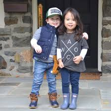 these toddler bffs dressed up as chip u0026 joanna gaines for
