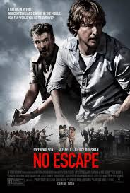 home in theaters fat movie guy no escape trailer and movie poster