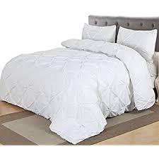 amazon com red nomad luxury duvet u0026 sham set hypoallergenic