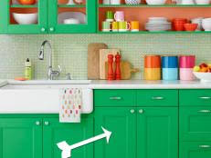 How To Repaint Kitchen Cabinets by How To Install Kitchen Cabinets Video Hgtv