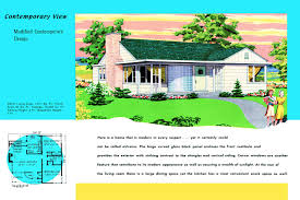 1950s Ranch House Plans Vintage House Plans 379k Antique Alter Ego 1950 Luxihome