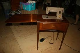 Vintage Singer Sewing Machine Cabinet Singer Sewing Machine 301a With Cabinet Antique Appraisal