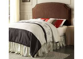 Full Fabric Headboard by Quality Furniture Wa Hasselt Brown Queen Full Upholstered Headboard
