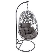 Outdoor Swingasan Chair Charles Bentley Hanging Rattan Floral Swing Chair Buydirect4u