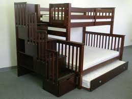 twin over full bunk beds with trundle and stairs u2014 loft bed design