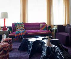 dishy purple settee with green floor lamp pranaycoffee com