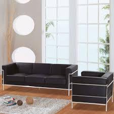 black modern sofa living room furniture modern furniture furniture center ny