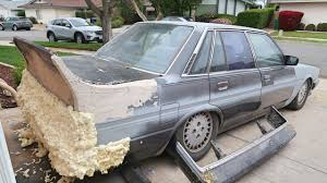 bumper made of forks u0026 toothpicks bosozoku cressida youtube