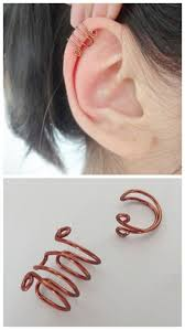 how to make ear cuffs diy basic wire ear cuff tutorial from essas frescurites here i