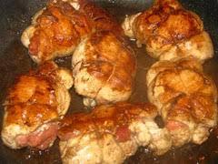 cuisiner des paupiettes de veau au four recette paupiettes de poulet à la duxelle de chignons