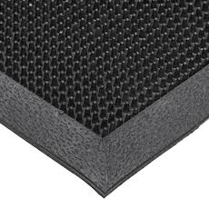 notrax t28 sbr rubber finger scrape entrance mat for wet and dry