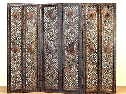 wood room dividers ceiling mounted room dividers wood partitions pleasant 15 divider