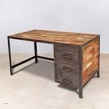 bureau metal bois bureau bureau fer et bois et metal industriel en best