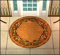 Round Rooster Rug 2x2 Round Rug Recolors Amovitam U0027s Dream Town