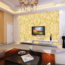 Texture Paints Designs For Bedrooms Large Yellow Marble Texture Design Wallpaper Mural Painting Living
