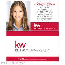 Keller Williams Business Cards Keller Williams Business Cards U2013 Pixels Printed