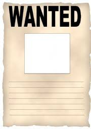 worksheet wanted poster