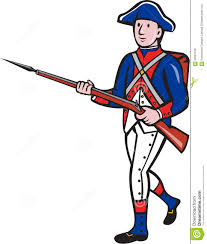 French And American Flags Soldiers Clipart French Revolution Pencil And In Color Soldiers