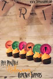free printable halloween cupcake toppers the pinning mama