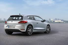 volkswagen scirocco 2016 white 2014 vw scirocco and scirocco r revealed with golf gti cues