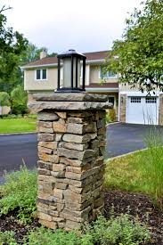 solar lights for driveway pillars 9 best for the home images on pinterest for the home stone