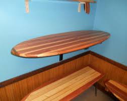 Surfboard Bar Table with Surfboard Bartop