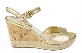 prada sandals prada gold sparkle cork wedge platform sandals