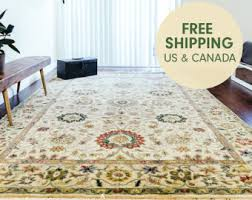 Area Rugs Victoria by Hand Knotted Rug Etsy