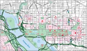 printable road maps printable downtown washington dc map add this map to your site