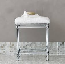 Bathroom Vanity Benches And Stools Newbury Bath Stool From Restoration Hardware Already Bought For