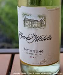 columbia valley wine collections chateau wine of the week chateau ste 2012 riesling stemichelle