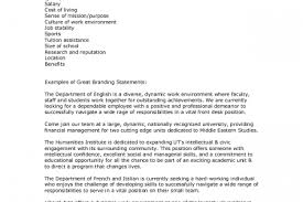 Personal Statement For Resume Examples by Resume Branding Statement Examples Reentrycorps