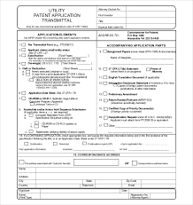 patent application template u2013 12 free word pdf documents