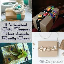 11 gift toppers that look really gift