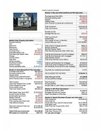 Sample Stock Portfolio Spreadsheet Rental Property Analysis Spreadsheet