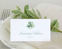 wedding place cards succulent wedding place cards paperwhites wedding invitations