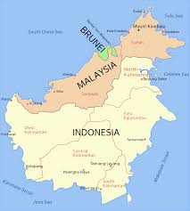 Map Of Malaysia Did You Know The Island Of Borneo Is The Third Largest Island