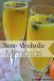 non alcoholic drinks a mimosa recipe