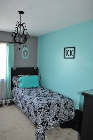 luxury blue black and white bedroom for home decor ideas with blue