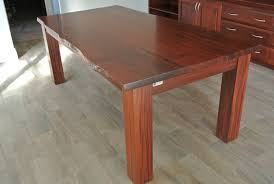 Dining Room Furniture Perth by Jarrah Slab Dining Table Arcadian Concepts Specialising In