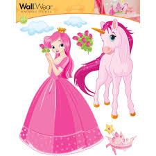 Princess Design Kitchens Wallwear Wall Decals Princess Castle Walmart Com About This Item