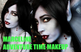 easy halloween makeup marceline vampire makeup tutorial youtube